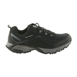 American Club czarne ADI buty sportowe wiązane American wodoodporne softhell  WT04/19