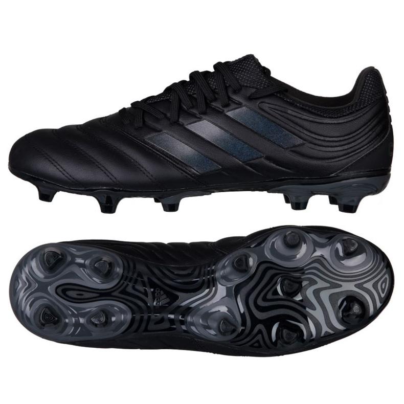 Buty piłkarskie adidas Copa 19.3 Fg M BC0553 czarne wielokolorowe