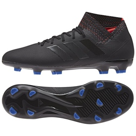 Buty piłkarskie adidas Nemeziz 18.3 Fg M D97981 czarne czarny
