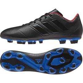 Buty piłkarskie adidas Nemeziz 18.4 FxG M D97991 czarne wielokolorowe
