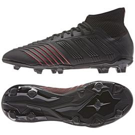 Buty piłkarskie adidas Predator 19.1 FG Jr D97997 czarne