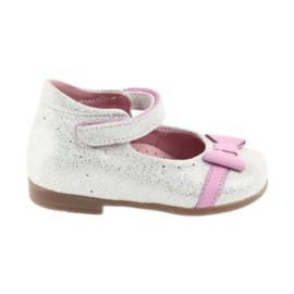 Balerinki na rzepy buty dziecięce Ren But 1493 DISKO