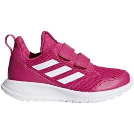 Różowe Buty adidas AltaRun Cf K Jr CG6895