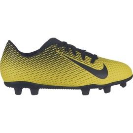 Buty halowe Nike Bravatax Ii Ic M 844441-701 żółte żółte