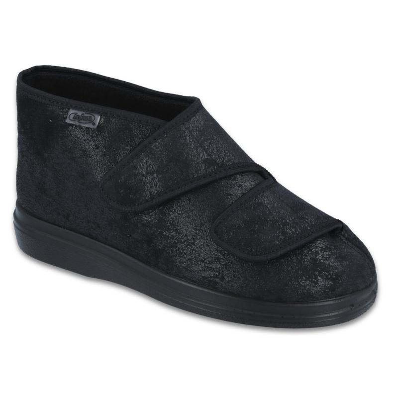 Befado obuwie damskie  pu 986D006 czarne
