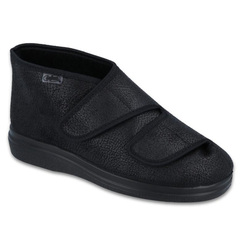 Befado obuwie damskie  pu 986D008 czarne