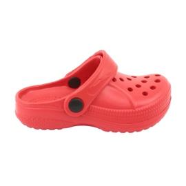 Befado inne obuwie dziecięce - czerwony 159X005 czerwone