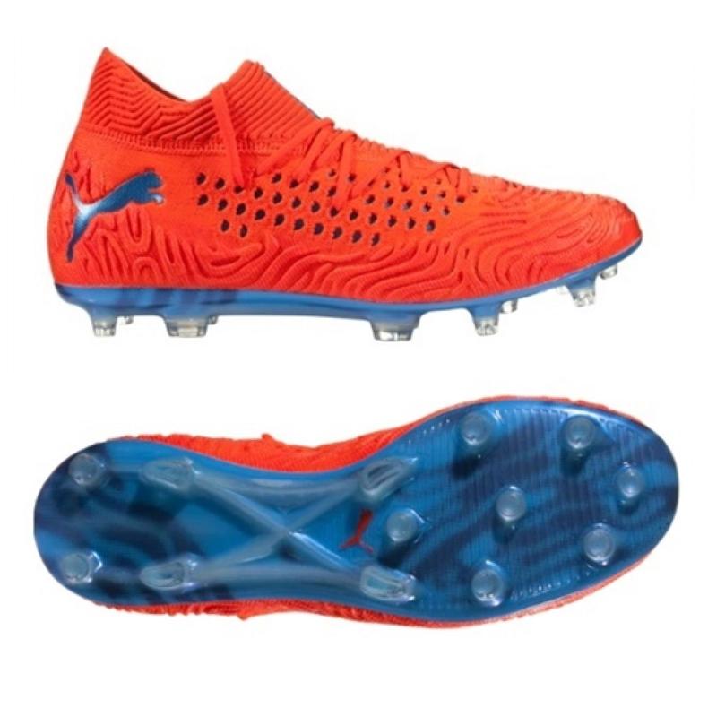 Buty piłkarskie Puma Future 19.1 Netfit Fg Ag M 105531 01 czerwone czerwone