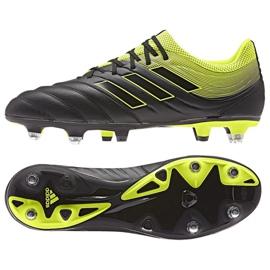 Buty piłkarskie adidas Copa 19.3 Sg M CG6920 czarne czarne