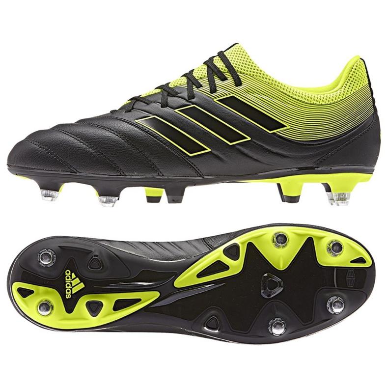 Buty piłkarskie adidas Copa 19.3 Sg M CG6920 czarny czarne