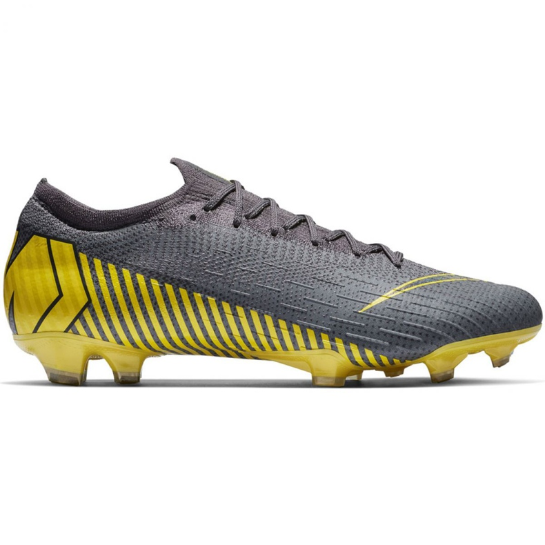 Buty piłkarskie Nike Mercurial Vapor 12 Elite Fg M AH7380-070 szare szare