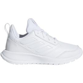 Białe Buty adidas AltaRun K Jr CM8578