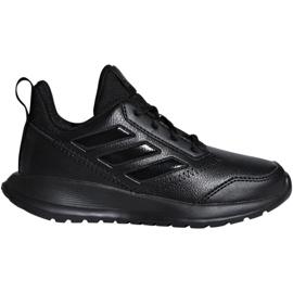 Czarne Buty adidas AltaRun K Jr CM8580