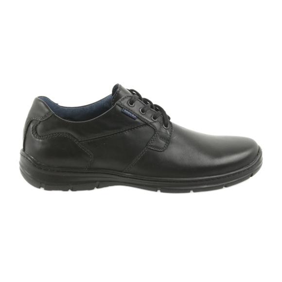 Badura półbuty męskie komfort 3509 czarne