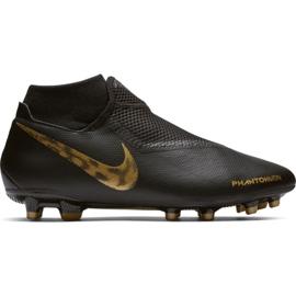 Buty piłkarskie Nike Phantom Vsn Academy Df FG/MG M AO3258-077 czarne czarne