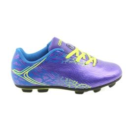 Sportowe korki chłopięce Atletico 76632 mix kolor fioletowe