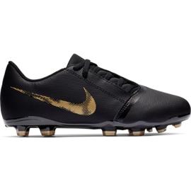 Buty piłkarskie Nike Phantom Venom CLub Fg Jr AO0396-077 czarne wielokolorowe