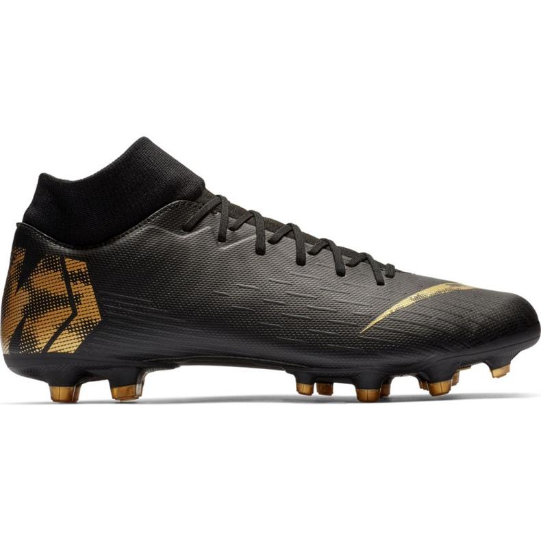 Buty piłkarskie Nike Mercurial Superfly 6 Academy FG/MG M AH7362-077 czarne czarne