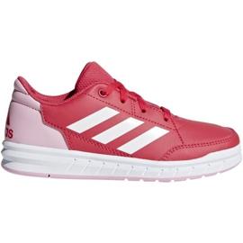 Czerwone Buty adidas AltaSport K Jr D96866
