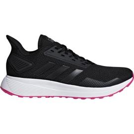 Czarne Buty biegowe adidas Duramo 9 W F34665