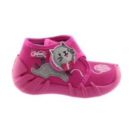 Różowe Befado obuwie dziecięce 523P013
