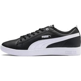 Czarne Buty Puma Smash Wns v2 L W 365208 02