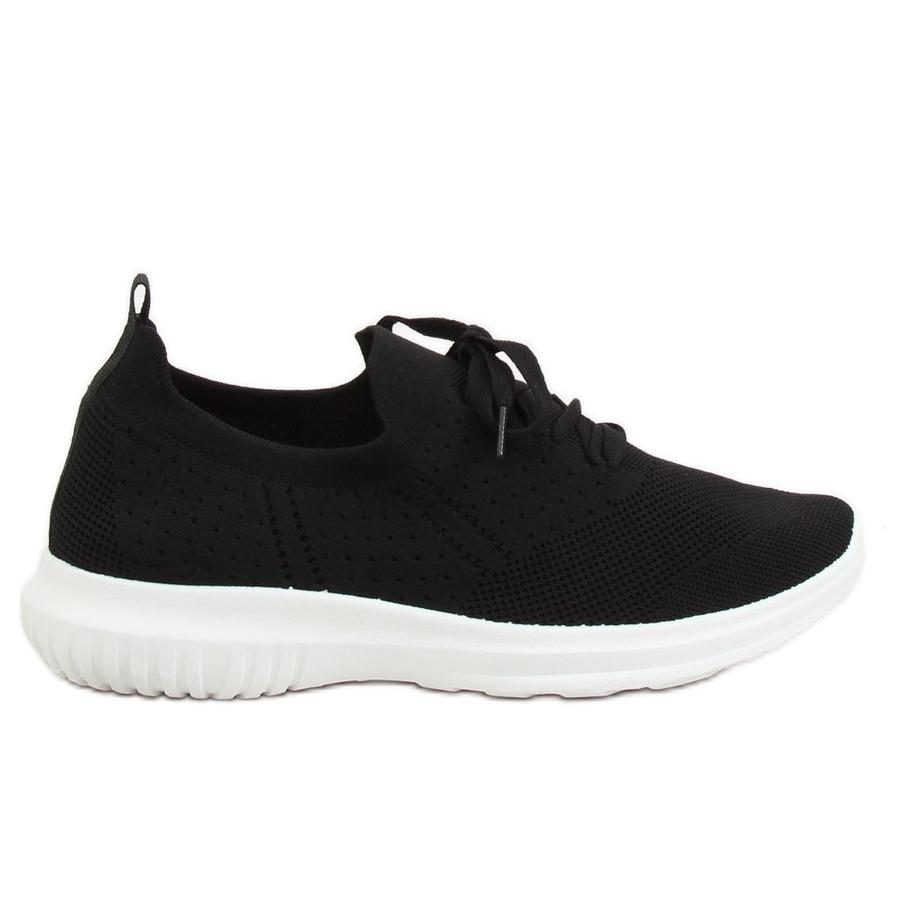 Buty sportowe czarne LX 9837 Black