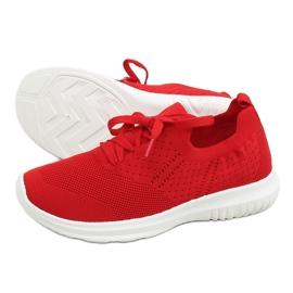 Buty sportowe czerwony LX-9837 Red czerwone