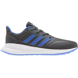 Buty adidas Runfalcon K Jr EE4670 niebieskie