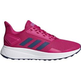 Różowe Buty adidas Duramo 9 K Jr F35102