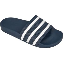 Granatowe Klapki adidas Originals Adilette M 288022