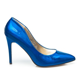 Seastar Metaliczne Szpliki Precious niebieskie