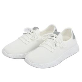 Buty sportowe biało szare NB281 Grey białe