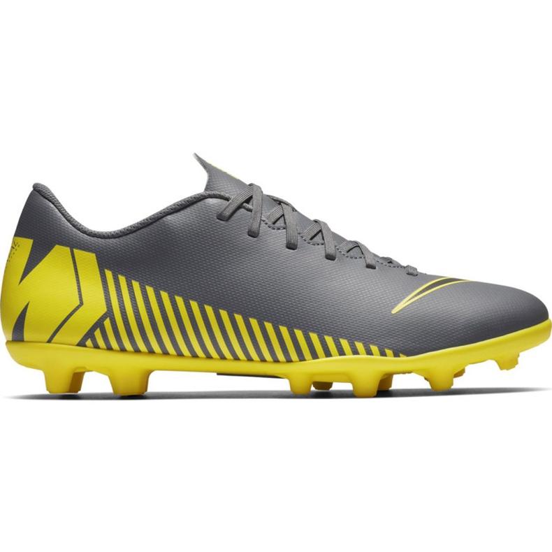 Buty piłkarskie Nike Mercurial Vapor 12 Club Mg M AH7378-070 czarne czarne