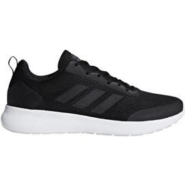 Czarne Buty biegowe adidas Cf Element Race M DB1464