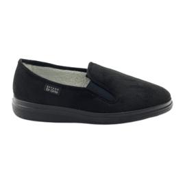 Czarne Befado obuwie damskie  pu 991D002