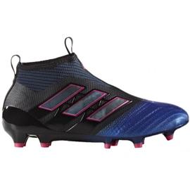 Buty piłkarskie adidas Ace 17+Purecontrol Fg Jr BA9819 czarne czarne