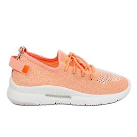 Buty sportowe różowe BK-117 Pink