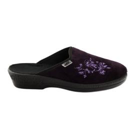 Fioletowe Befado obuwie damskie pu 219D425