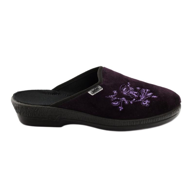 Befado obuwie damskie pu 219D425 fioletowe