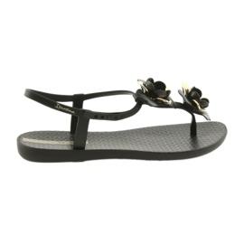 Ipanema sandały buty damskie z kwiatami 82662