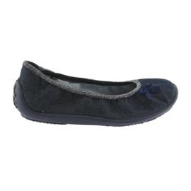 Granatowe Befado obuwie dziecięce 980Y096