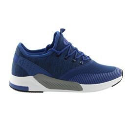 Niebieskie Buty sportowe męskie DK 18470 blue