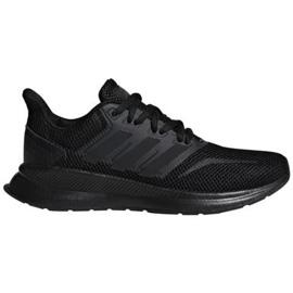 Buty adidas Runfalcon Jr F36549 czarne