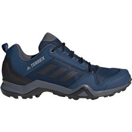 Buty trekkingowe adidas Terrex AX3 M BC0527 niebieskie