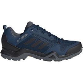 Buty trekkingowe adidas Terrex AX3 Gtx M BC0521 niebieskie