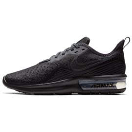 Czarne Buty Nike Air Max Sequent 4 W AO4486-002