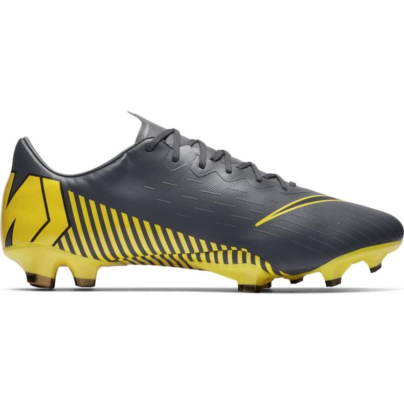 Buty piłkarskie Nike Mercurial Vapor 12 Pro Fg M AH7382-070 szare szare