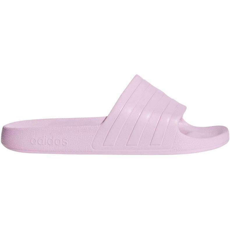 Klapki adidas Adilette Aqua F35547 różowe