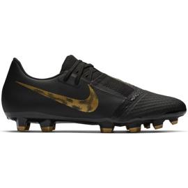 Buty piłkarskie Nike Phantom Venom Academy Fg M AO0566-077 czarne wielokolorowe